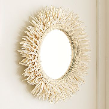 You can also find interesting mirrors at vintage shops and flea markets.
